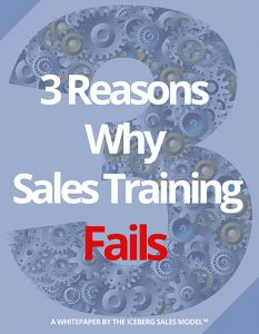 Download Your Copy: 3 Reasons Why Sales Training Fails